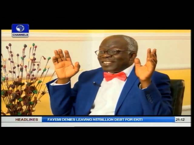Law Weekly: No Basis For Barring Media From Court Martial - Falana Pt2