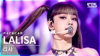 Download lagu [페이스캠4K] 리사 'LALISA' (LISA FaceCam)│@SBS Inkigayo_2021.09.26.