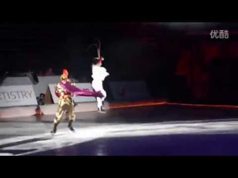 Artistry on Ice 2014 Beijing: Johnny Weir and Zhang Hao,