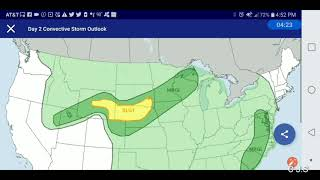 PM 4day outlook for Stillwater area 7.3.18
