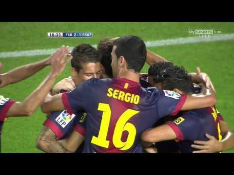 barcelona vs real sociedad la liga 19-08-2012- 720p