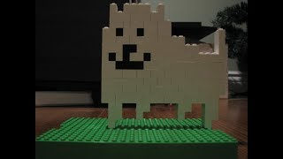 How To Build lego annoying dog from undertale