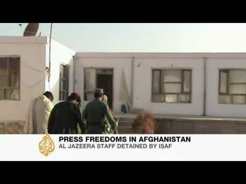 Al Jazeera slams Isaf over arrests
