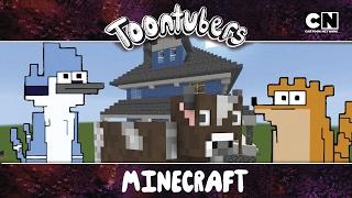 ¡¡¡Sobreviví la selva de Minecraft!!! | Toontubers | Cartoon Network