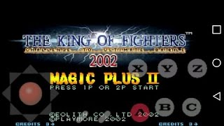 Kof 2002 Magic plus 2 para Android [Tiger Arcade]