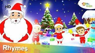 Merry Christmas (HD) Plus More Christmas Songs & Nursery Rhymes For Babies | Shemaroo Kids