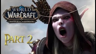 Let's Play World of Warcraft BATTLE FOR AZEROTH - ORC HUNTER | Part 2