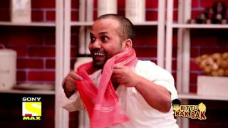 Download Bittu Bak Bak - Panipuri Wala Gaana Gaa Raha Hai - Krushna and Bharti 3Gp Mp4