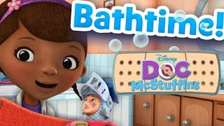 Disney Doc McStuffins Bath Time Cleaning | Fun Educational Game For Children