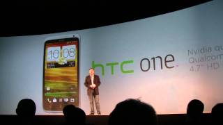 HTC One Launch - HTC One X - HTC One V - HTC One S - Official Presentation at MWC 2012