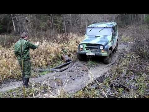 Niva 4x4 & UAZ. Никитская Аномальная Зона.