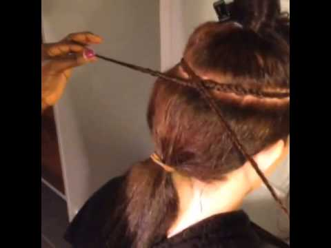 Pictures Of Weaving In Hair Extensions 106
