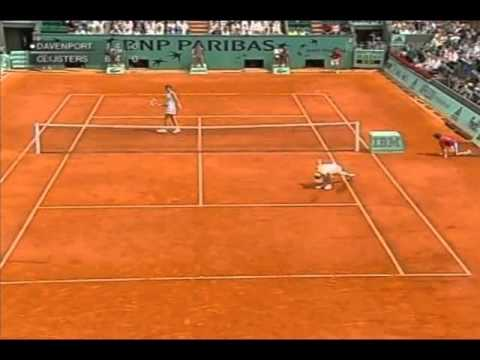 2005 French Open R4 Lindsay Davenport VS Kim Clijsters Highlights