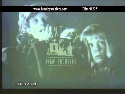 Children Enjoy A Film - Close Ups Of Emotions.  Archive Film 91225 video