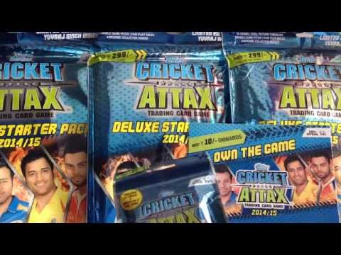 YT PREMIER CRICKET ATTAX COMBO PACK IPL 14/15