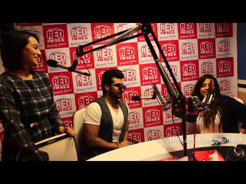 Arjun Kapoor's Diaries : A day long visit to various radio stations around Mumbai | Tevar Promotions