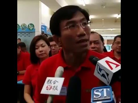 SDP Bukit Batok SMC By-Election 2016 - Media Doorstop at Nomination Centre