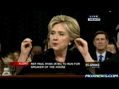 Hillary Clinton Testifies About Benghazi Attacks! (FULL Hearing part_4)