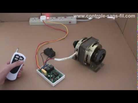 Comment changer la rotation du moteur monophas lectrique 220v avec seul un - Fonctionnement d un condensateur ...