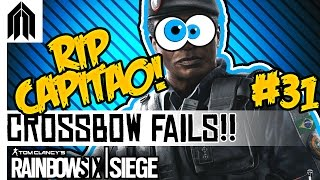 Rainbow Six Siege Funny Moments! - Capitao Crossbow Fail, Double Interrogation & Caveira Glitch
