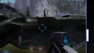 Halo combat Evolved mods (includes flyable pelican)