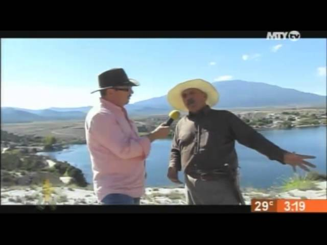 El Sr Maximiliano Sanchez de Laguna Labradores en Galeana NL