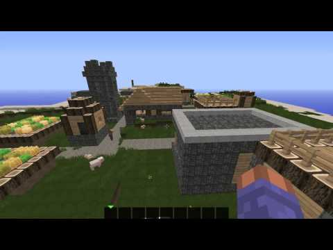Top 3 flat land, grass land Minecraft seeds