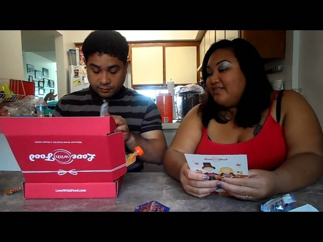 Love with Food November Unboxing