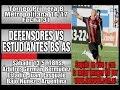Defensores de Belgrano CA Estudiantes goals and highlights