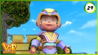 Vir: The Robot Boy | Bunty The Robot Boy | Action Show for Kids | 3D cartoons