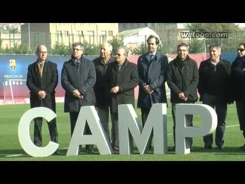 Homenatge a Tito Vilanova a la Ciutat Esportiva Joan Gamper / www.weloba.com