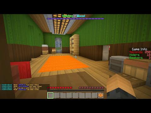 Minecraft: Hide N Seek - Melhor Lugar do Mundo! Creeper de Lava?