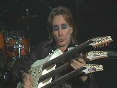 Steve Vai's 3 Necked Guitar Solo! Music Videos