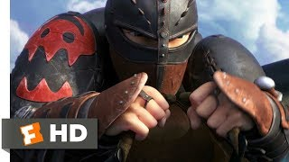 How to Train Your Dragon 2 2014  The Wingsuit Scen