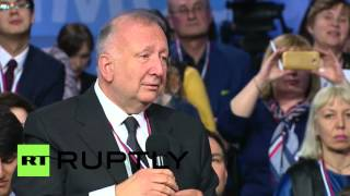 Russia: Putin uses his German skills to step in as translator