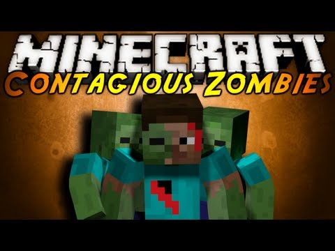 Minecraft Mod Showcase : CONTAGIOUS ZOMBIES!