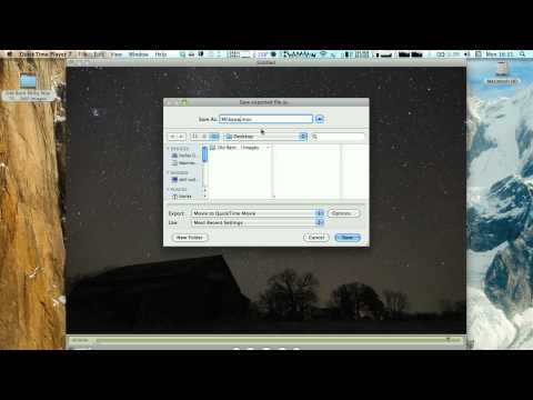 Time Lapse Tutorial: Quicktime Pro