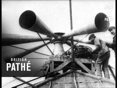 Ww1 Air Raid Siren (1914-1918)