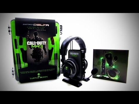 Turtle Beach Call of Duty MW3 Ear Force Delta Unboxing