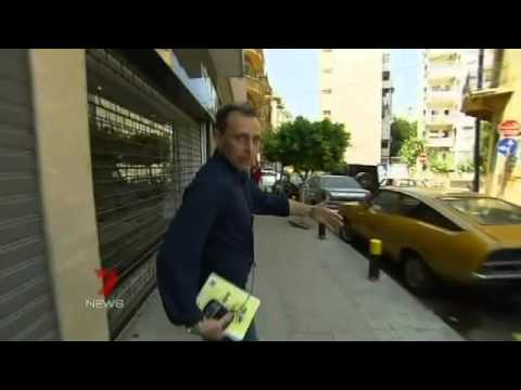 Seven News | Chris Reason Beirut Promo (2006)