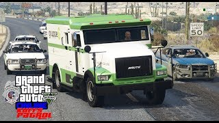 GTA 5 Criminal Roleplay |KUFFS Multiplayer #120|Security Guard Steals Money Truck On 1st Day Of Work