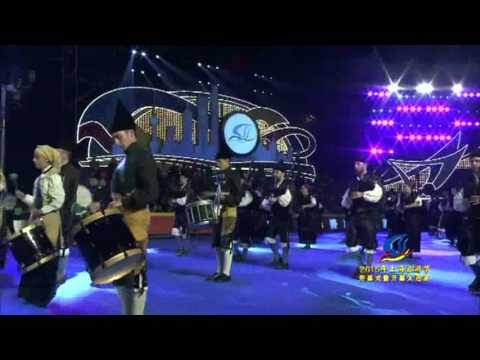 2015 Shanghai Tourism Festival ( Asturias Pipe Band, Spain)