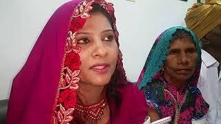 Krishna Kumari news elected Senator of PPP in her cultural dress