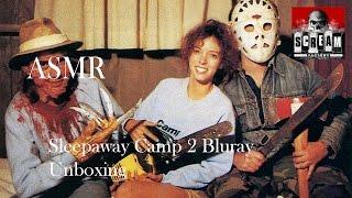 ASMR Sleepaway Camp 2 Bluray unboxing