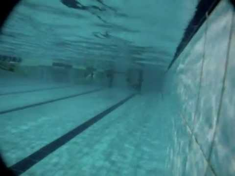 Mateusz Malina 200m dynamic without fins training session