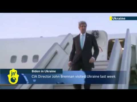 Ukraine Crisis: American Vice President Joe Biden arrives in Kiev to meet Ukrainian officials