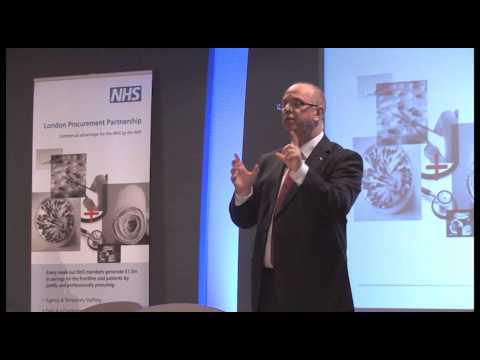 Sir David Nicholson at NHS London Procurement Partnership Conference 15 Jan 2013