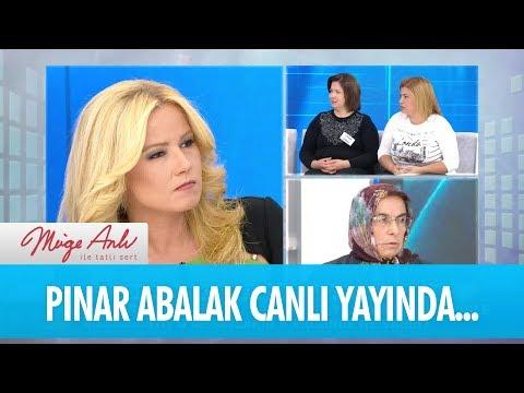 Mehmet Abalak'ın eşi Pınar Abalak canlı yayında - Müge Anlı İle Tatlı Sert 23 Kasım 2017
