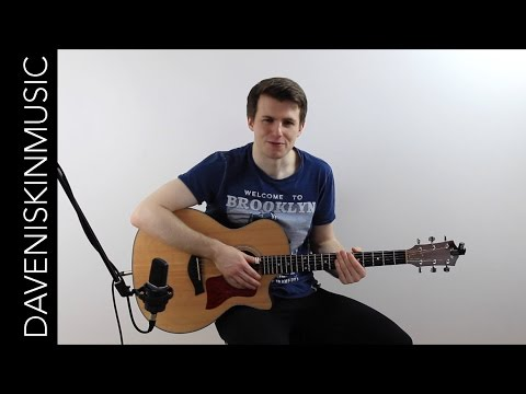 What A Wonderful World - Fingerstyle Tutorial / Lesson Extract