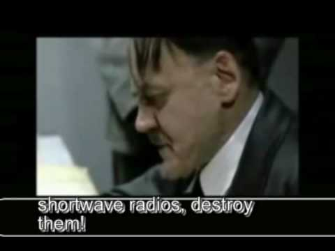 Hitler driven crazy by ham radio